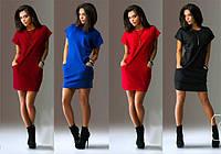 Платье туника карман длинна 85см 42 44 46 48 50 Р, фото 1