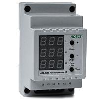 Реле защиты Adecs ADC-0130-10 10А трехфазное