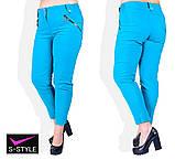 Летние женские брюки большого размера 48,50,52,54,56,58, фото 2