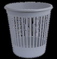 Офисная корзина для бумаг arnika 82060 белый пластик