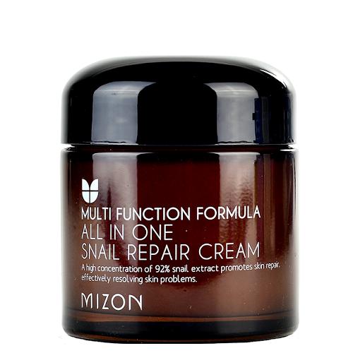 Восстанавливающий крем для лица с фильтратом улиточной слизи Mizon All in One Snail Repair Cream 120 мл