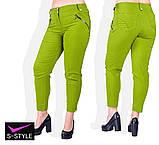 Летние женские брюки большого размера 48,50,52,54,56,58, фото 7