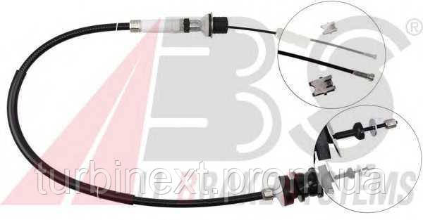 Трос сцепления CITROEN PEUGEOT 2150.P6 Fiat Scudo (L=1088mm) (без упаковки)