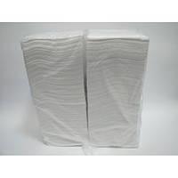 Салфетки бумажные однослойные 400 штук