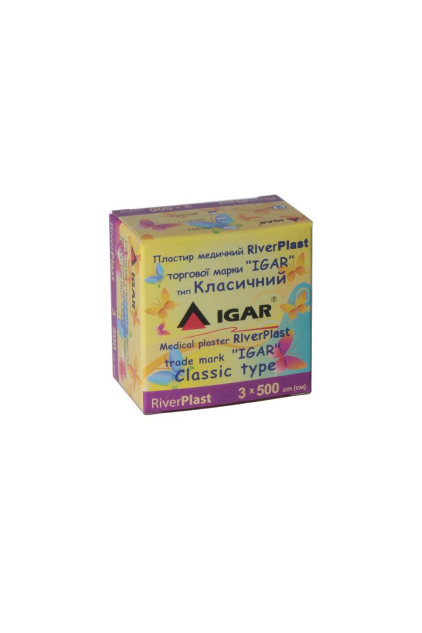 Пластырь RiverPlast 3*500см тип Классический IGAR (катушка)