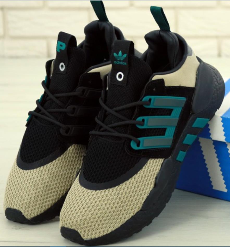 Мужские кроссовки Adidas Packer EQT 91/18 (Адидас Эквипмент 91/18 черные)