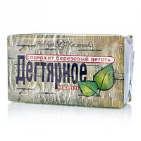 Туалетное дегтярное мыло Невская косметика  4х100 грамм