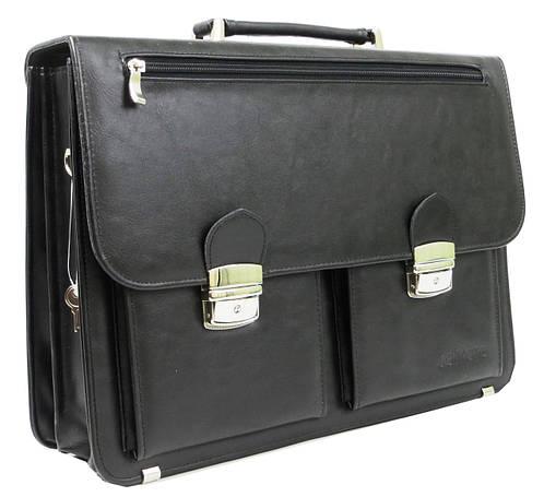 d6a227fd1143 Мужские деловые портфели из ткани и кожзама, с одной и двумя ручками