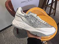 Кроссовки Jimmy Choo 'Raine' SILVER MIX, фото 1