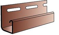 Планка J-trim  блок-хауз