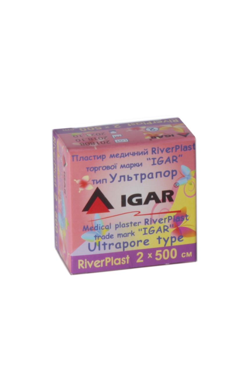 Пластырь RiverPlast 2*500см тип Ультрапор IGAR (катушка)