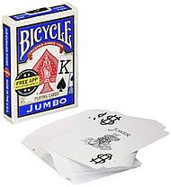 Карты игральные   Bicycle Jumbo Index, фото 3