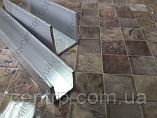Алюминиевый П-профиль (швеллер)