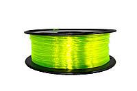 CoPET пластик, 500 грамм 1.75мм желтый полупрозрачный