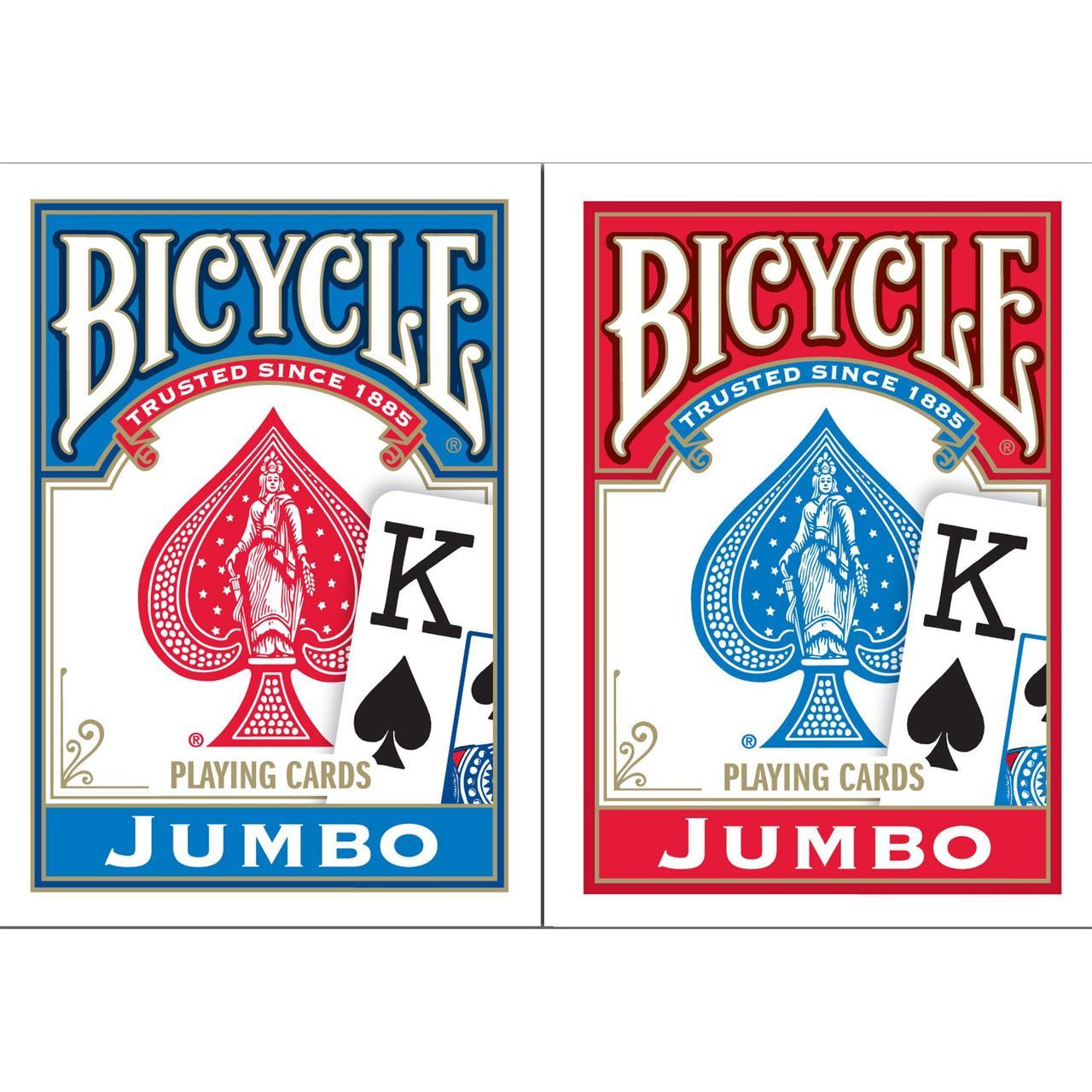 Карты игральные   Bicycle Jumbo Index