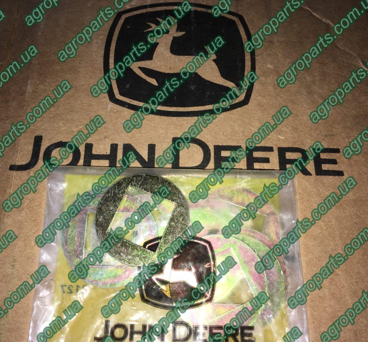 Шайба 24H1937 квадр John Deere METALLIC WASHER, SQUARE HOLE прокладка 24Н1937 проставка
