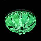 """Люстра """"торт"""" на 5 лампочок з LED підсвічуванням на пульті управління СветМира PM-1005/5, фото 4"""