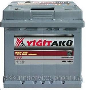 Аккумулятор автомобильный Yigit Aku Grey TT7 62AH R+ 640A