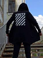 Мантия унисекс в стиле Off white ХХХ чёрная