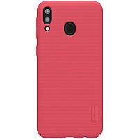 Чехол Nillkin Matte для Samsung Galaxy M20 (Красный)