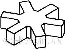 Звездочка 30*60*15 (25 УЗ) ГОСТ 14084-93, фото 2