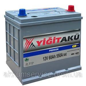 Аккумулятор автомобильный Yigit Aku Asia Premium 60AH L+ 540A (Honda)