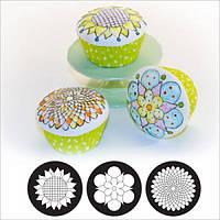 Текстурные маты для декорирования маффинов Каприз