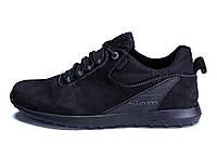Мужские кожаные кроссовки Ecco biom NS (реплика)