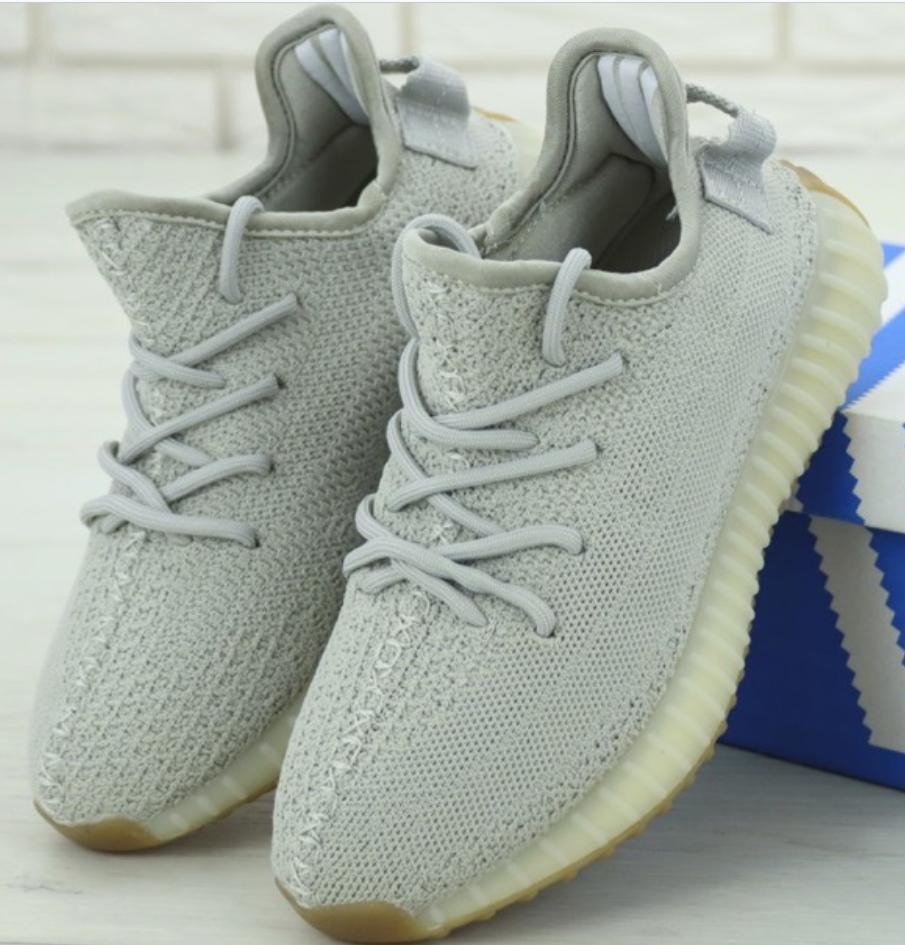 Женские кроссовки Adidas Yeezy Boost 350 Gray