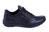 Мужские кожаные кроссовки Colambia ZK (реплика)