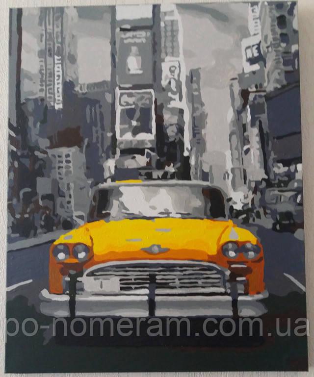Картина Нью-Йоркское такси