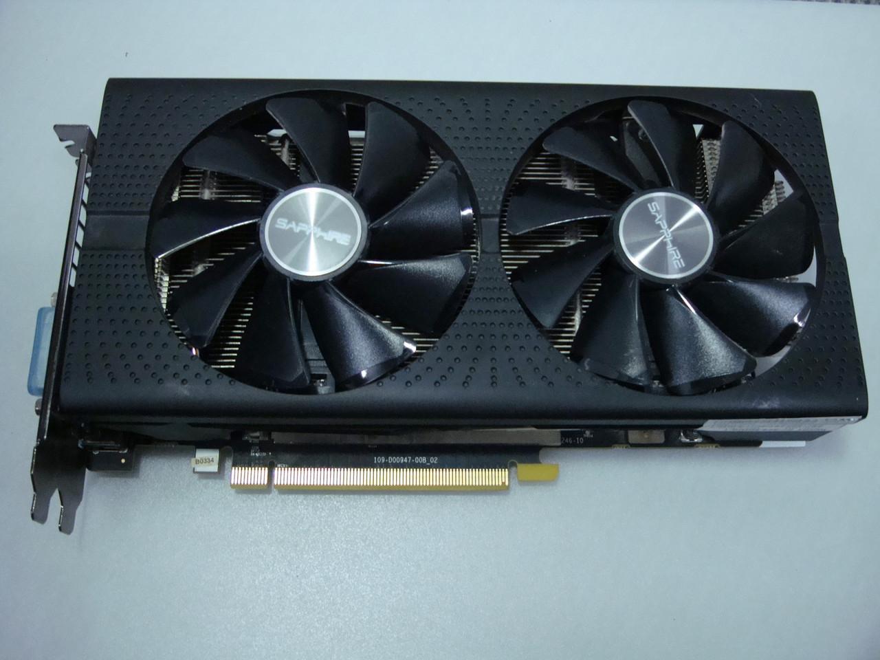 Видеокарта Sapphire RX580 8Gb DDR5 почти новая