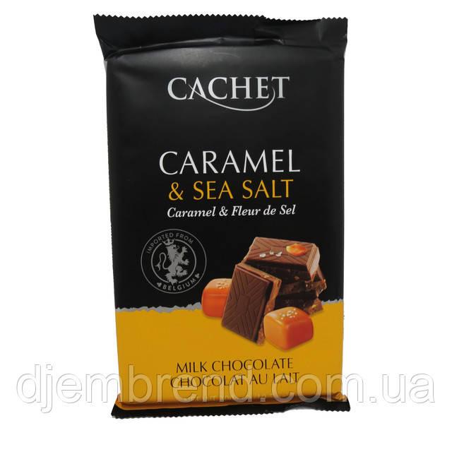 Молочный шоколад Каше с карамелью