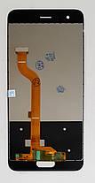 Модуль (сенсор + дисплей) для Huawei Honor 9 (тип 2) TF-L09... чорний, фото 2
