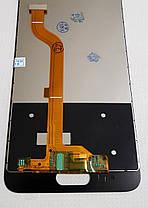 Модуль (сенсор + дисплей) для Huawei Honor 9 (тип 2) TF-L09... чорний, фото 3