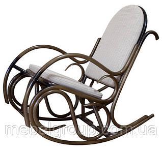 Кресло-качалка плетеное из ротанга Олимп