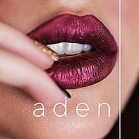 Сатиновая помада Aden metal lipstick