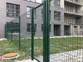 Забор 3D и 2D