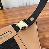 Поясная сумка, клатч на пояс от Фенди Peecaboo натуральная кожа, фото 4