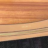 Поясная сумка, клатч на пояс от Фенди Peecaboo натуральная кожа, фото 6