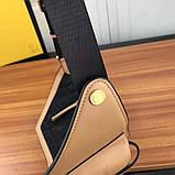 Поясная сумка, клатч на пояс от Фенди Peecaboo натуральная кожа, фото 8