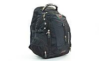 Рюкзак городской (рюкзак офисный) Victor 1521: 44x30x23см, черный
