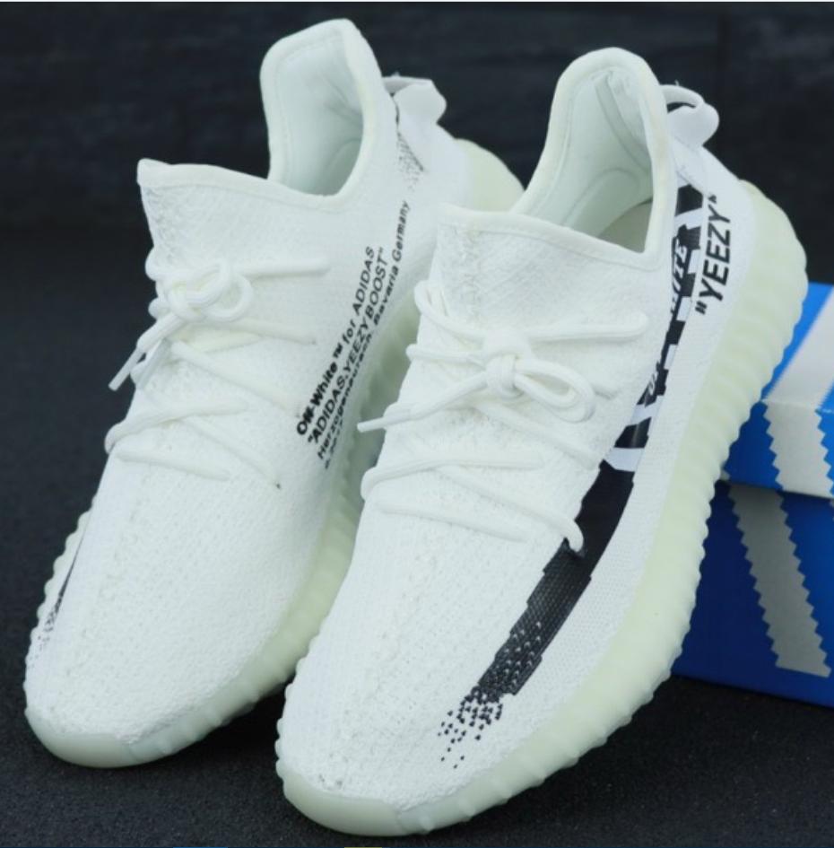 Мужские кроссовки Adidas Yeezy Boost 350 White 45