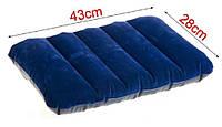 Надувная флокированная подушка Intex 68672., фото 1