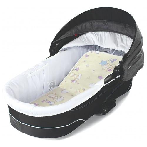 """Матрас для новорожденных  Veres """"Baby Carriage"""" 3,5 см, кокосовый"""