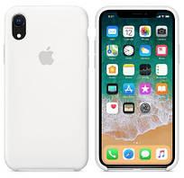 "Чехол Silicone case (AAA) для Apple iPhone XR (6.1"") (Белый / White)"