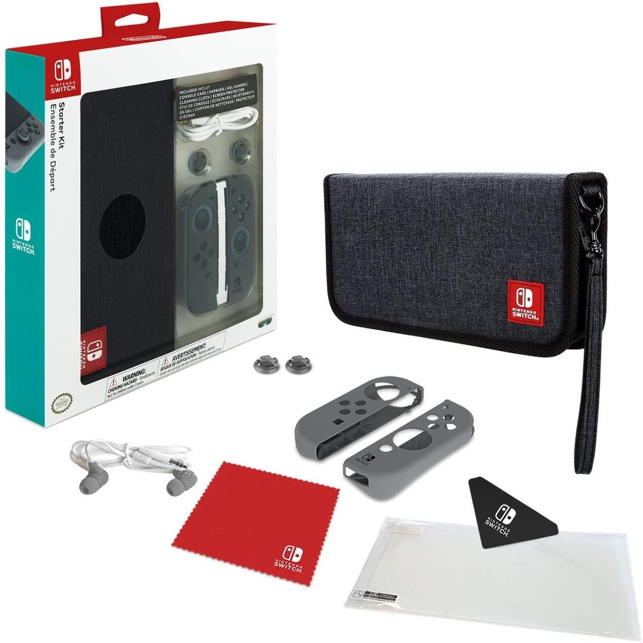 Аксессуар  для Nintendo Switch Travel Pack + Стекло в подарок
