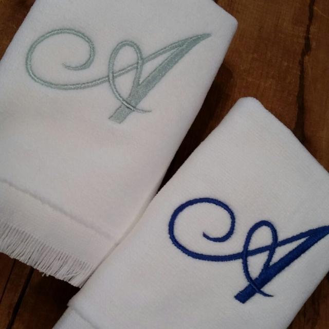 Махровые полотенца с вышивкой в Днепре