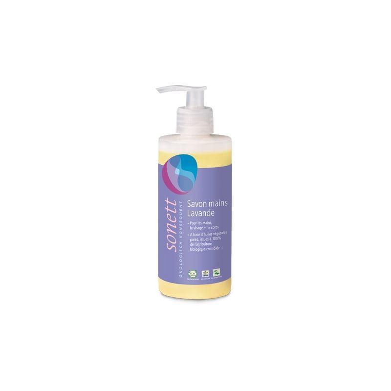 Sonett - Органическое жидкое лавандовое мыло, 300 мл
