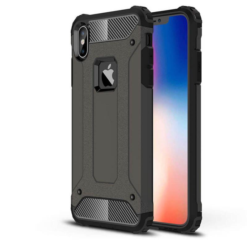 "Бронированный противоударный TPU+PC чехол Immortal для Apple iPhone XS Max (6.5"")"